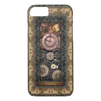 Elegant Steampunk Personalized iPhone 7 Case