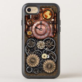 Elegant Steampunk Vintage Timepiece OtterBox Symmetry iPhone 8/7 Case