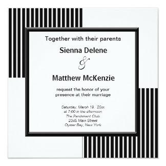 Elegant Stripes Card