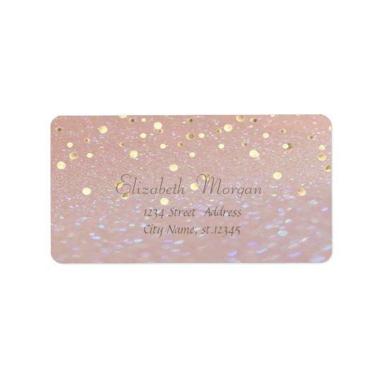 Elegant  Stylish ,Fux Gold Foil Confetti