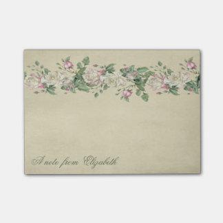 Elegant Stylish Girly ,  Flowers Post-it Notes