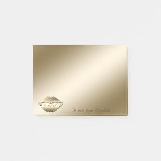 Elegant Stylish,Girly,Lips Post-it Notes