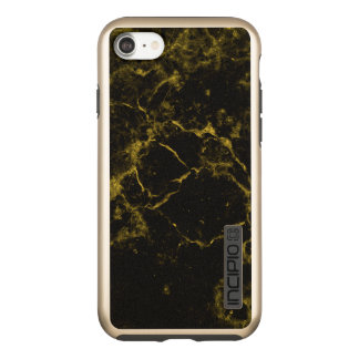 elegant stylish modern chic black and gold marble incipio DualPro shine iPhone 8/7 case