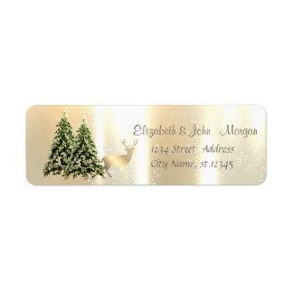 Elegant,Stylish Pine Trees,Christmas Reindeer