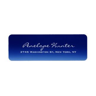 Elegant Stylish Trendy Blue Handwriting Script