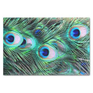 Elegant Stylish Trendy Peacock Feathers Wedding Tissue Paper