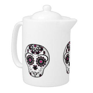 Elegant sugar skull