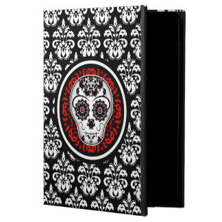 Elegant sugar skull damask powis iPad air 2 case