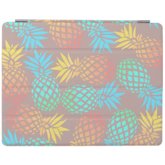 elegant summer tropical colorful pineapple pattern iPad cover
