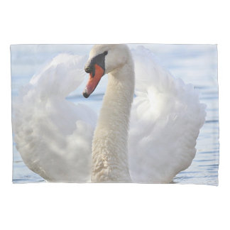 Elegant Swan Pillowcase