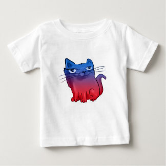 elegant sweet kitty cartoon baby T-Shirt