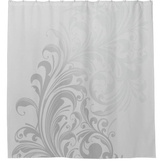 Elegant Swirl Shower Curtain