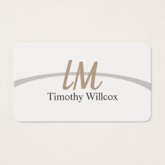 Elegant target business card