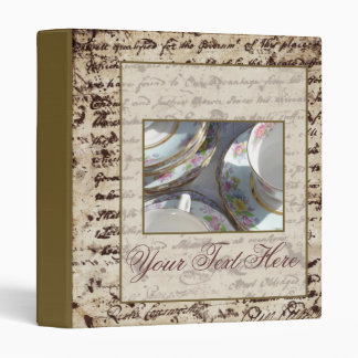 Elegant Tea Binder