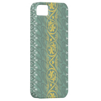 Elegant Teal Butter Damask Case-Mate iPhone 5 iPhone 5 Cases