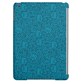 Elegant Teal Damask Cover For iPad Air