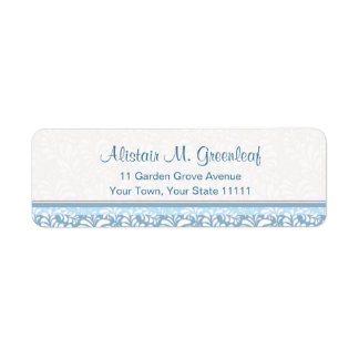 Elegant Teal Green  Arts & Crafts Return Address Return Address Label
