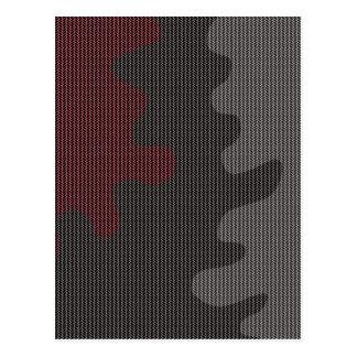 Elegant texture postcard