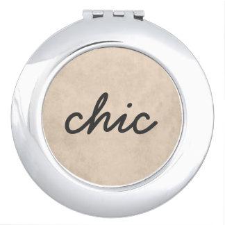 Elegant Textured Skin Foundation Makeup Mirror