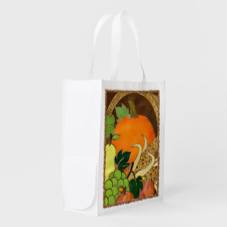 Elegant Thanksgiving Mixed Media GIFT PIE BAG