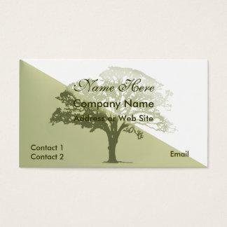 Elegant Tree Business Card