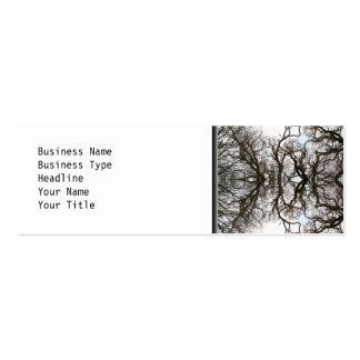 Elegant Tree Pattern Business Cards