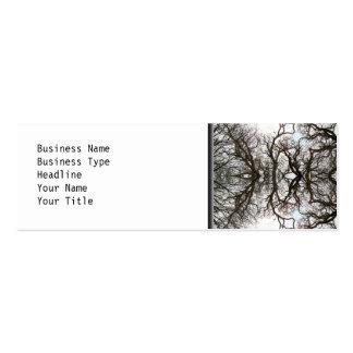 Elegant Tree Pattern Business Cards