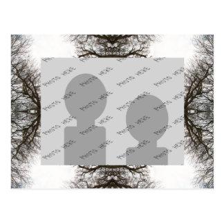 Elegant Tree Pattern Postcards