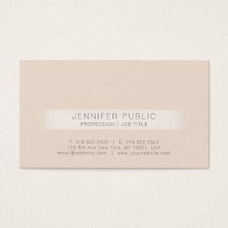 Elegant Trend Design Modern Professional Business Card