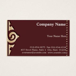 Elegant Tribal Business Card