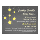 Elegant Twinkle Twinkle Little Star Baby Shower Card