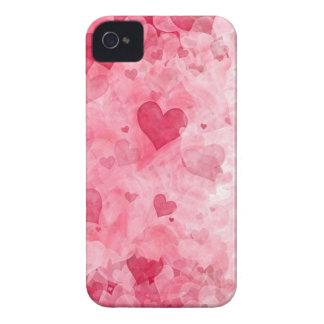 Elegant Valentine's Day Hearts Blackberry Case