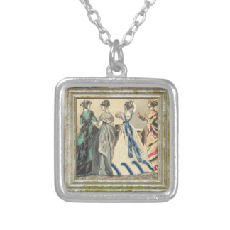 Elegant Victorian Fashions Silver Plated Necklace