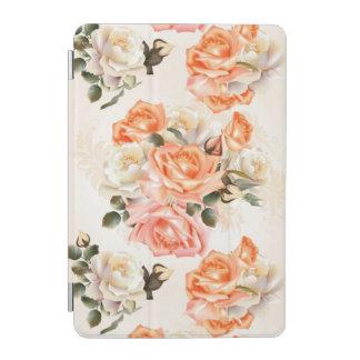 Elegant Vintage beige rose pattern iPad Mini Cover