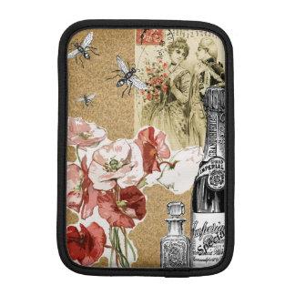 Elegant Vintage Collage iPad Mini Sleeve