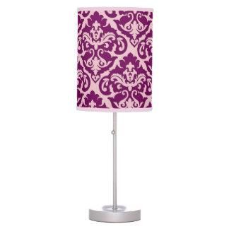 Elegant Vintage Damask Table Lamp