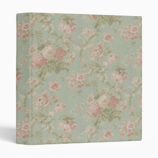 Elegant VIntage Floral Cottage Rose Binder