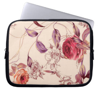 Elegant Vintage Floral Cream & Rose Case