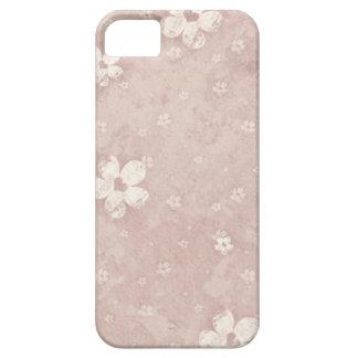 Elegant Vintage Floral Grunge Heart Case For The iPhone 5