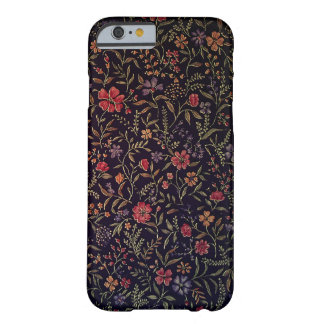 Elegant Vintage Floral iPhone 6 case Barely There iPhone 6 Case