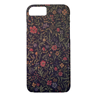 Elegant Vintage Floral iPhone 7 case