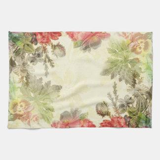 Elegant Vintage Floral Kitchen Towel