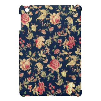 Elegant Vintage Floral Rose iPad Mini Case