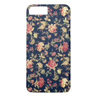 Elegant Vintage Floral Rose iPhone 8 Plus/7 Plus Case