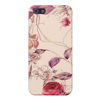 Elegant Vintage Floral Rose Speck Case, iPhone Cover For iPhone 5/5S