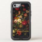 Elegant Vintage Floral Vase OtterBox Defender iPhone 8/7 Case