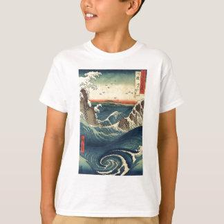 ELegant Vintage Japanese Ocean Tide T-Shirt