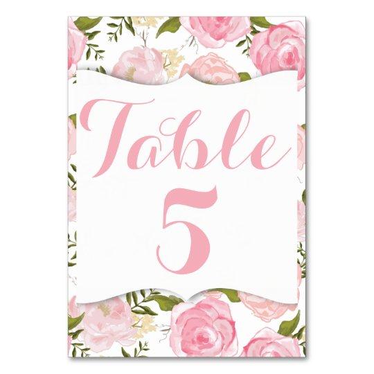 Elegant Vintage Pink Roses Card