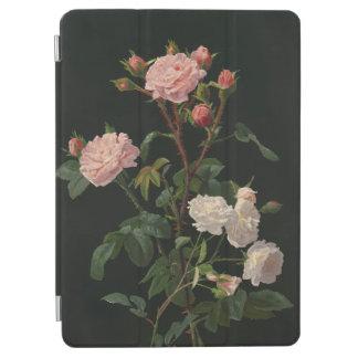 Elegant Vintage Pink Roses iPad Air Cover