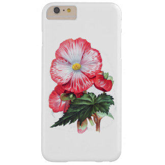 ELEGANT VINTAGE RED FLORAL BARELY THERE iPhone 6 PLUS CASE